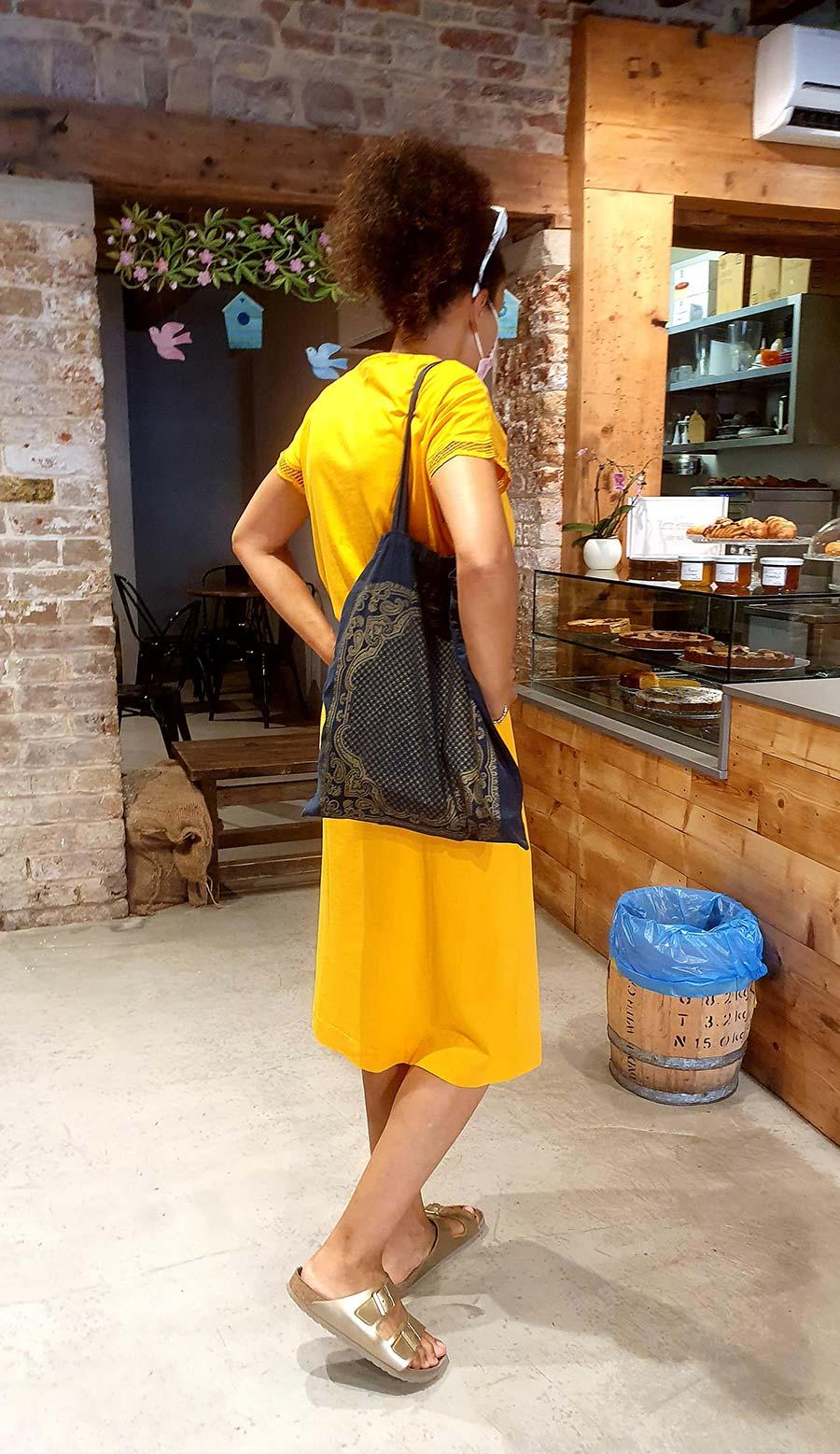 yellow dress gold Birkenstock