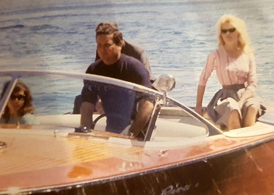 Holywood venice Riva Speedboat Venice Movie