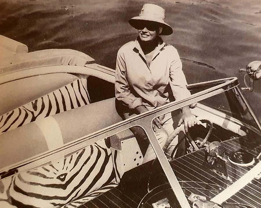 Riva Speedboat Venice Movie
