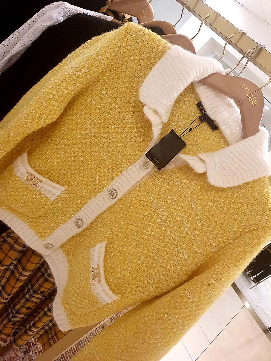 Maje Yellow Jacket