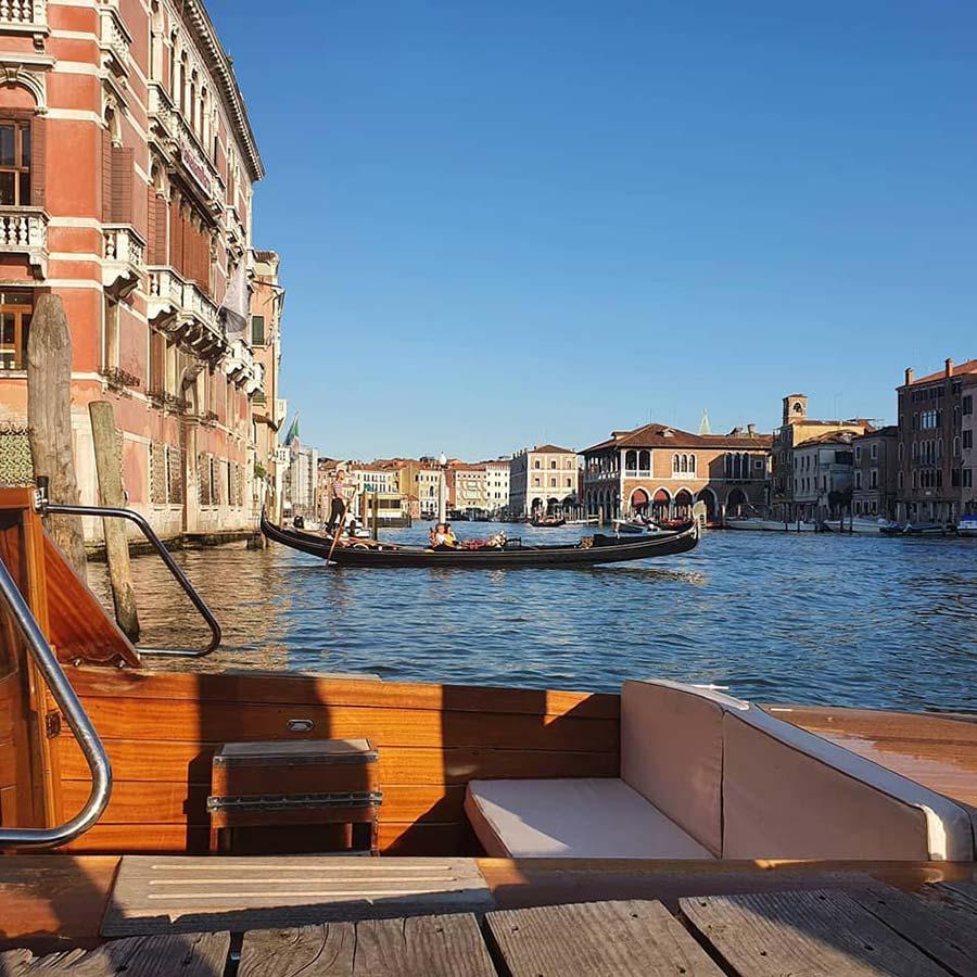 Speedboat Riva venice yacht wood