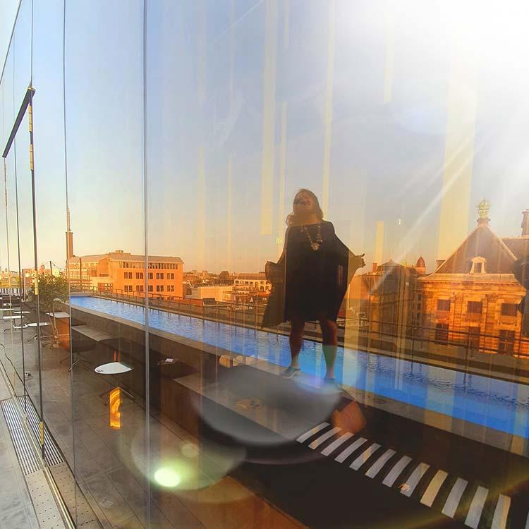WAmsterdam Roof Top Bar