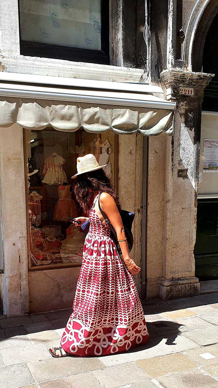 A bohemian delight, full of Italian, Venice Charm.