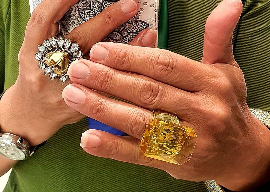 Fashion For Fifty – Large Hands For Large Bling Rings