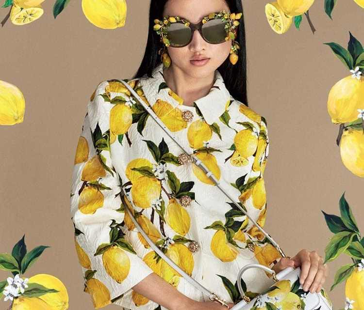 Fruit Print suits