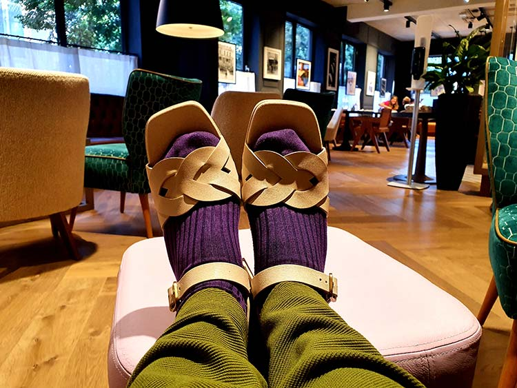 Chei Mihara sandals with socks