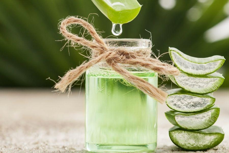 Aloe Vera All Natural - Hair & Skin Care Benefits