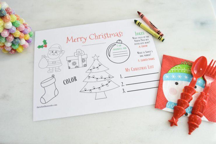 Christmas Free printables - The schoolhousesite.com