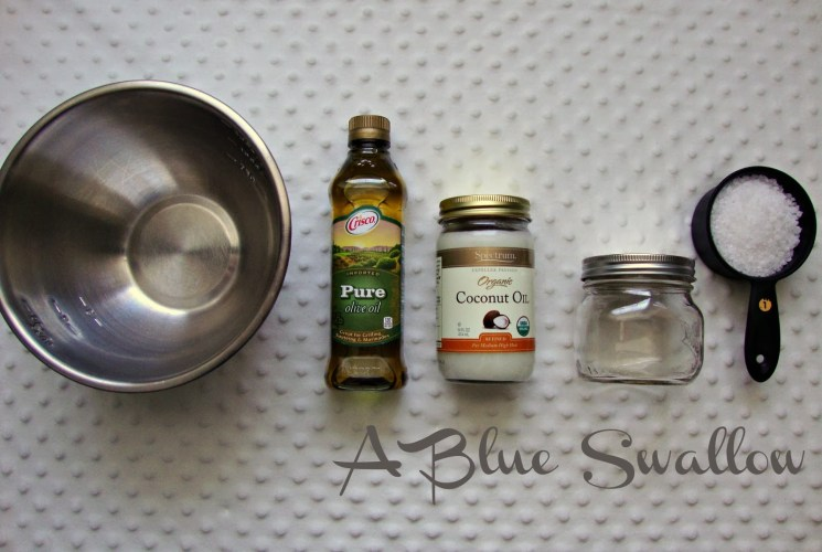 Bird's Eye D.I.Y.: Household Salt Scrub