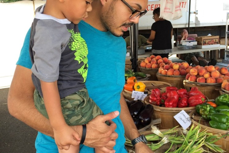 Weekend Adventures: Plus One, Fresh Produce, New Routines