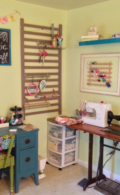 Our Nest: Craft Room