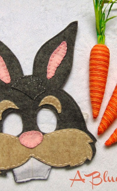 Felt Easter Bunny Mask!