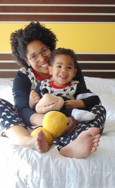 Christmas 2017: Family Pajama Day Mickey Style!