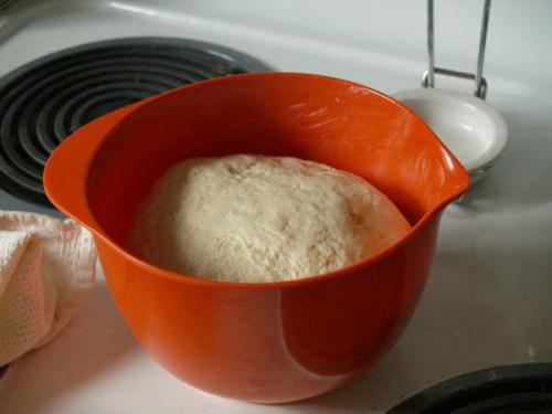 dough resting