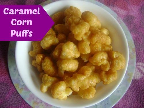 Caramel Corn Puffs 2