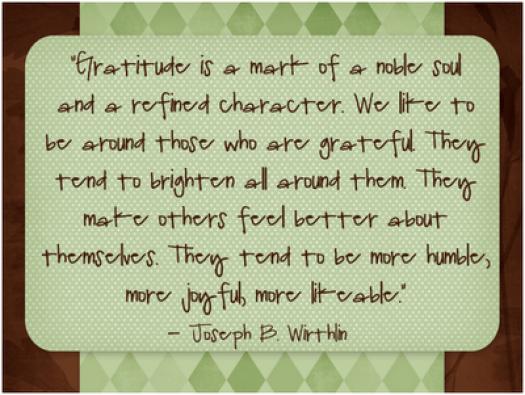 Gratitude 14