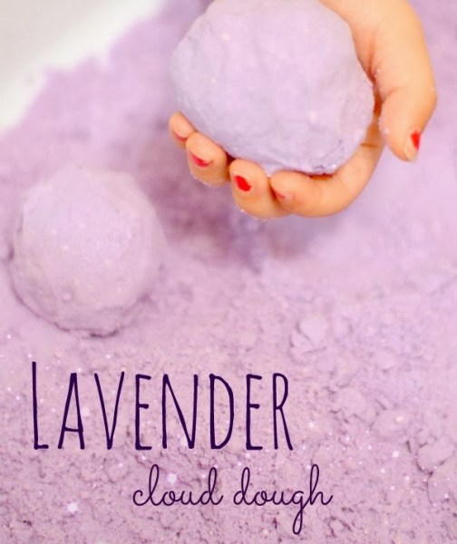 lavender cloud dough recipe