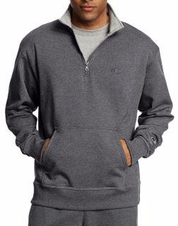 Lightweight men's sweatshirt pullover and zip up jacket hoodie