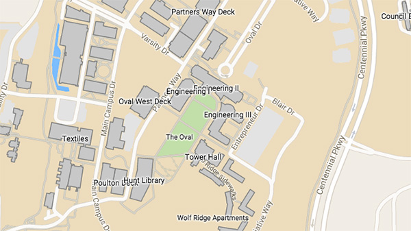 Nc State Centennial Campus Map