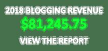 2018 Blog Income