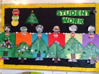 Student Work Christmas Trees