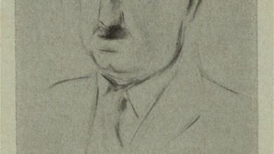 Photo of Matisse's Sketch of John Dewey