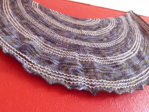 Diana's Shawl hand knitting pattern by Gradiance Yarns   www.gradianceyarns.co.uk