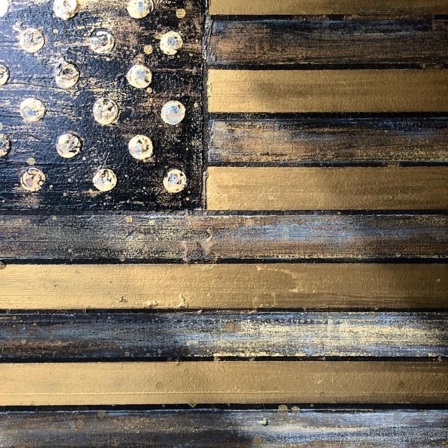 Nathan Baker.  Non G-Spec American Flag #1.