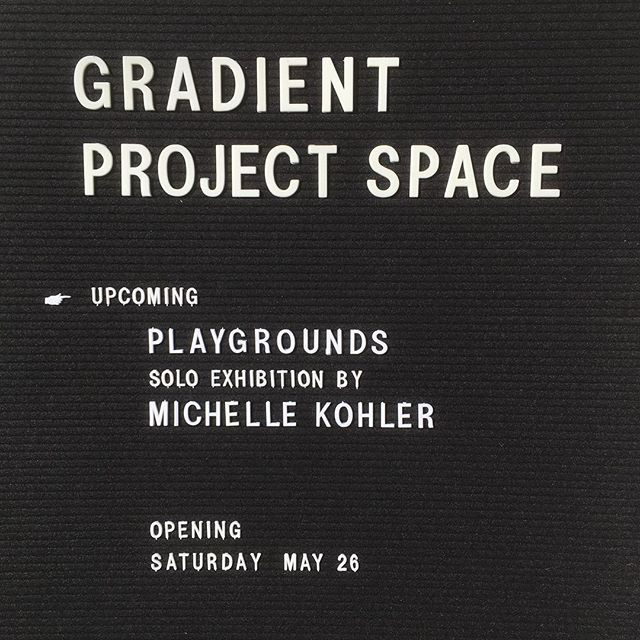 Working towards our first exhibition with @michellekohlerstudio, opening May 26 as part @artspringwv.