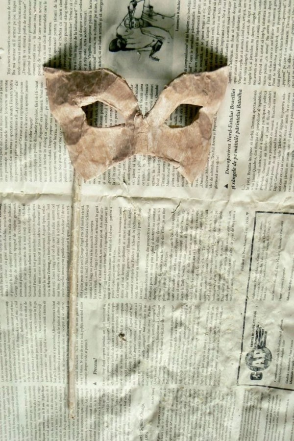 Tutorial masca venetiana carnaval bal mascat 16