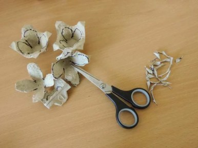 Tutorial trandafir carton - pasul-04