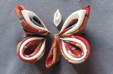 Silk butterfly tutorial 11
