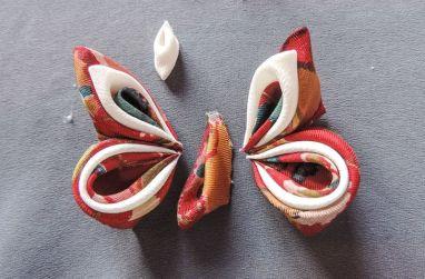Silk butterfly tutorial 14