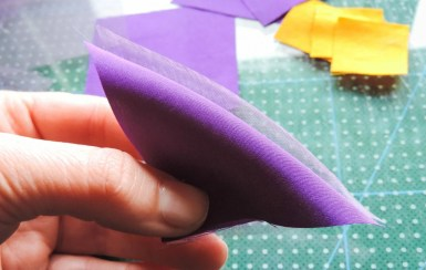 Iris flower tutorial - Making the petals 2