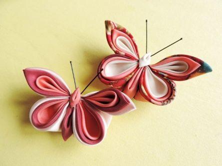 Fluturi din matase pe baza de brosa pentru evenimente corporate