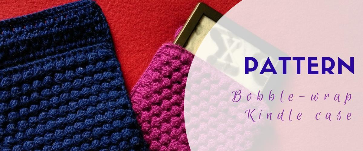 Crochet Kindle case - free pattern