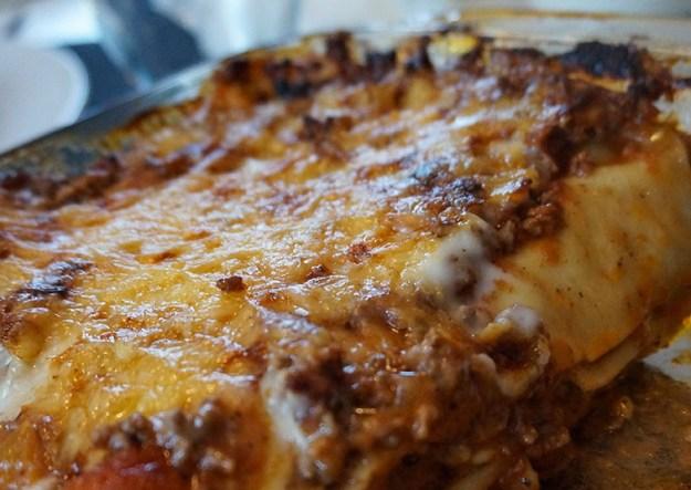 Enkel-lasagne