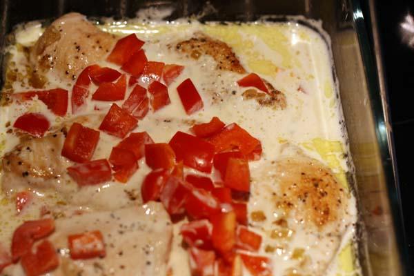 Kycklingfile-senapssas