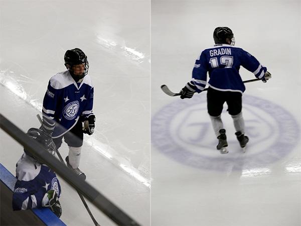 Hockeyskola i Leksand