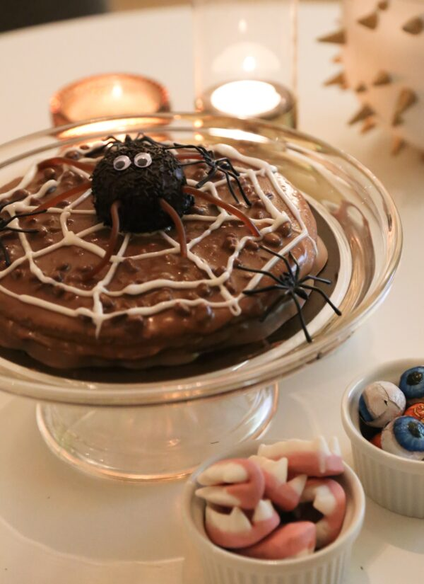 Enklaste Halloweentårtan