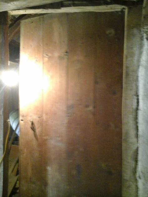 Loft door to annexe