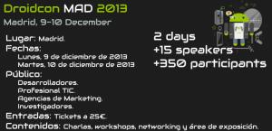 Droidcon 2013 Madrid