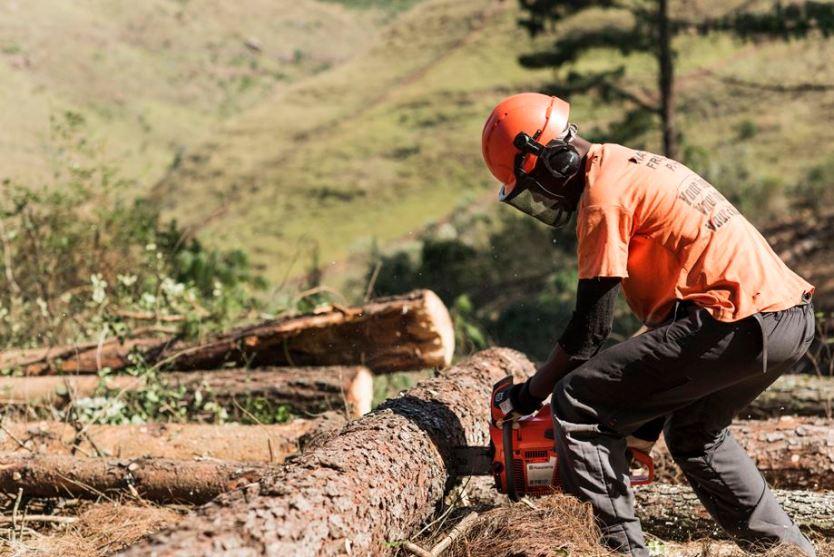 Husqvarna chain saw in Kenya