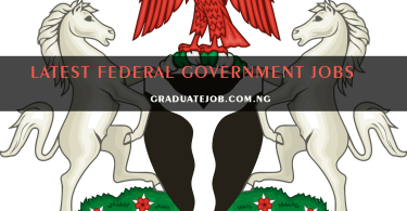 Federal Government of Nigeria Recruitment for Technical Assistant / Procurement Advisor