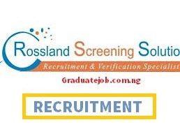 Intern at Rossland Screening Solutions