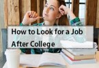 How to Look for a Job After College