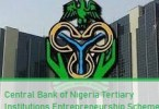 Central Bank of Nigeria Tertiary Institutions Entrepreneurship Scheme
