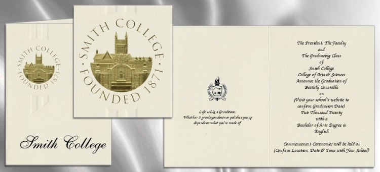 Unique High School Graduation Announcements