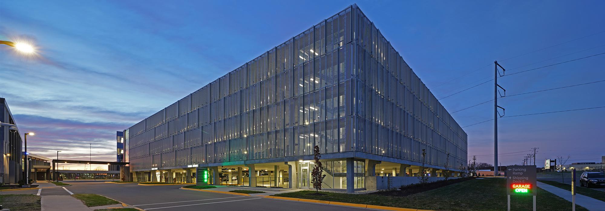 Exact Sciences Parking Structure-header
