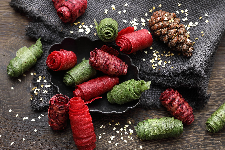 Geschenkband aus Fruchtleder
